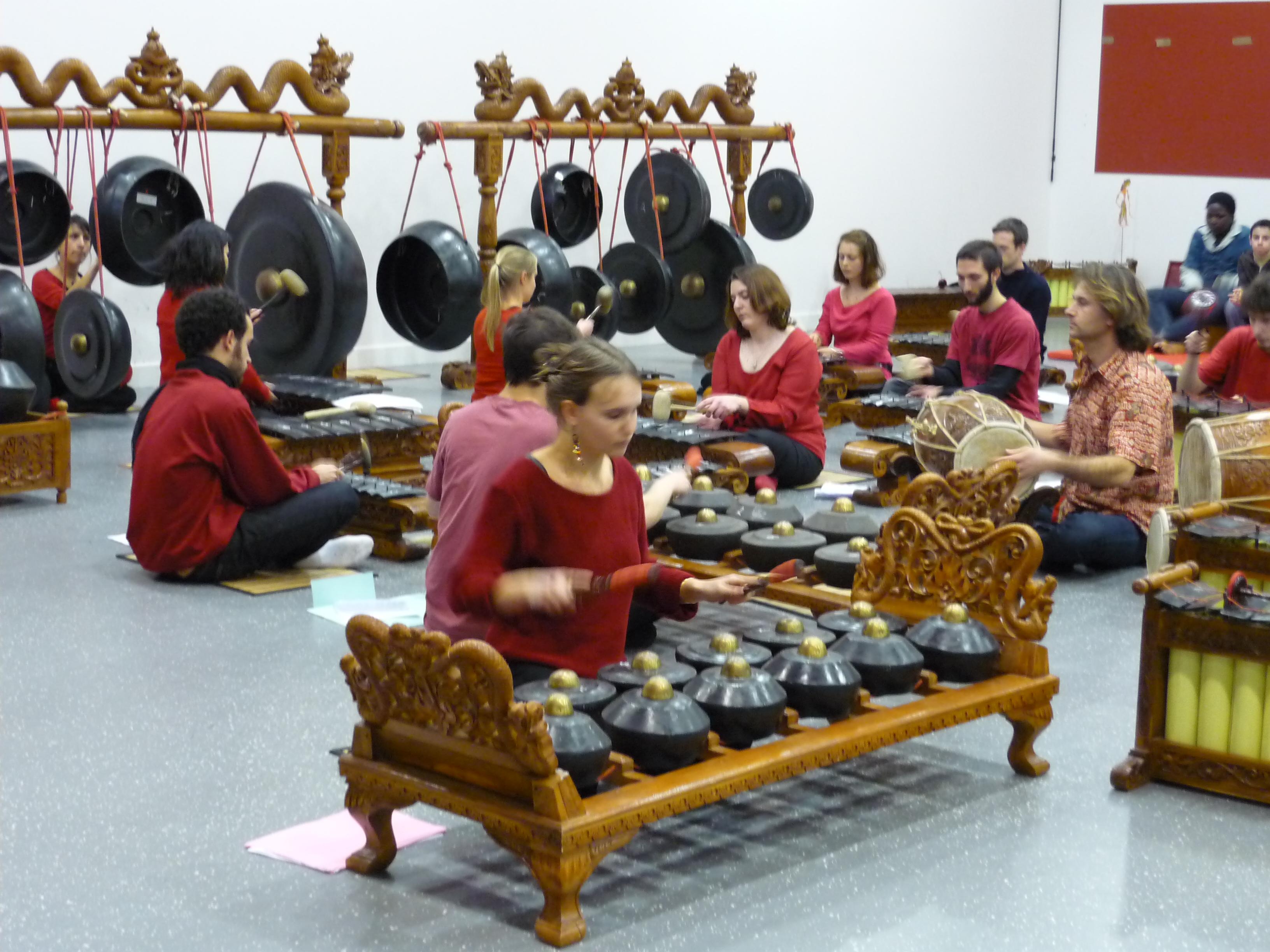 Ateliers Gamelan